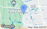 Map of Grovetown, GA